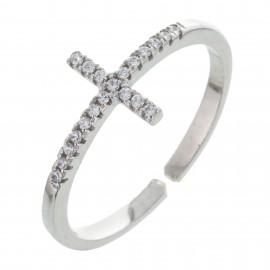 Cruz Zirconium Diamantado