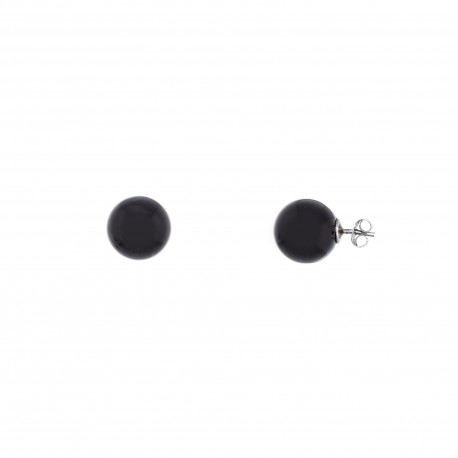 Perla Swarovski Black 12mm
