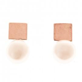 Square Perla Oro Rosa