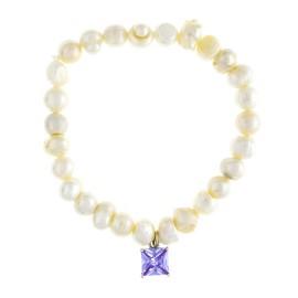 Perlas Y Circonita Llamador