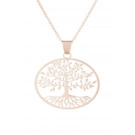 Gran Árbol de la Vida Oro Rosa