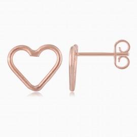 Corazón Mini Oro Rosa
