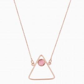 Triangle Rosa Oro Rosa
