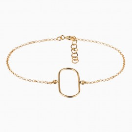 Simple Oval Oro