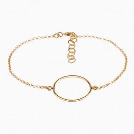 Simple Circle Oro