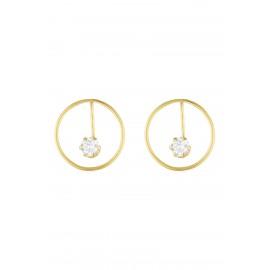 Circle Zirconium Oro