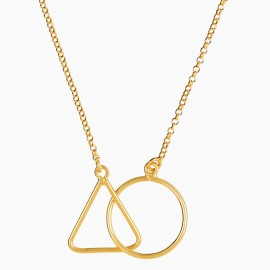 Circle & Triangle Oro