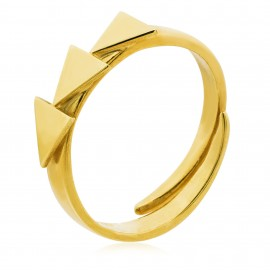 Trio Triangles Gold