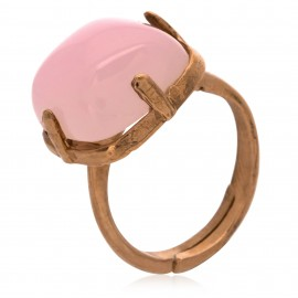 Square Rosa de Francia Rose Gold