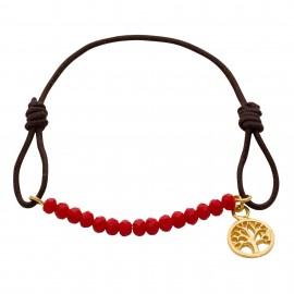 Luxury Árbol Coral Swarovski Gold