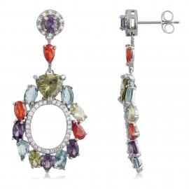 Luxury Oval Colors Zirconium