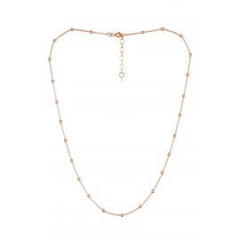 Cadena Bolitas Rose Gold
