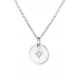 Rosa de los Vientos Silver Zirconium