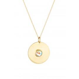 Circle Murano Gold