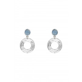 Dolce Calcedonia Circle Silver