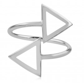 Duo Triangle Silver
