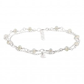 Swarovski Jade Luna Silver