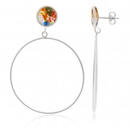 Dolce Murano Circle Silver