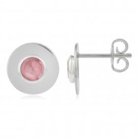 Circle Rosa Silver
