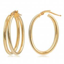 Aro Oval Gold