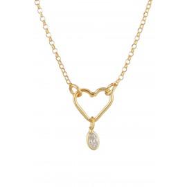Corazón Zirconium Gold