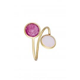 Doble Dolce Bicolor Rosa & Frambuesa Gold