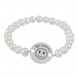 Be Happy Perla Silver