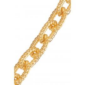 Eslabones Rizados Gold