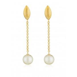 Gota perla oro