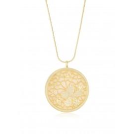 Medallón Primavera Nácar Oro