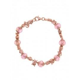 Abalorios Rosa de Francia Oro Rosa