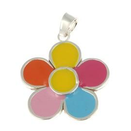 Flor Esmaltada Colors