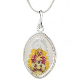Medalla Virgen Rocio Esmalte