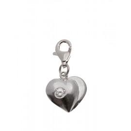 Charms Corazón Zirconium