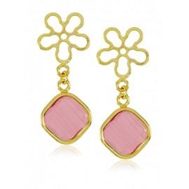 Tú y Yo Flor Luxury Rosa de Francia Square Oro